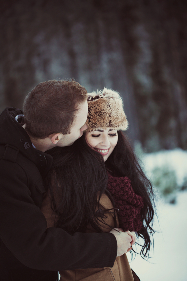 Snowy Engagement Session by White Album Weddings-11