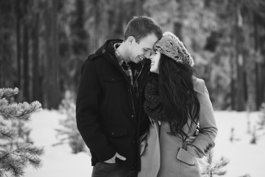 Snowy Engagement Session by White Album Weddings-17