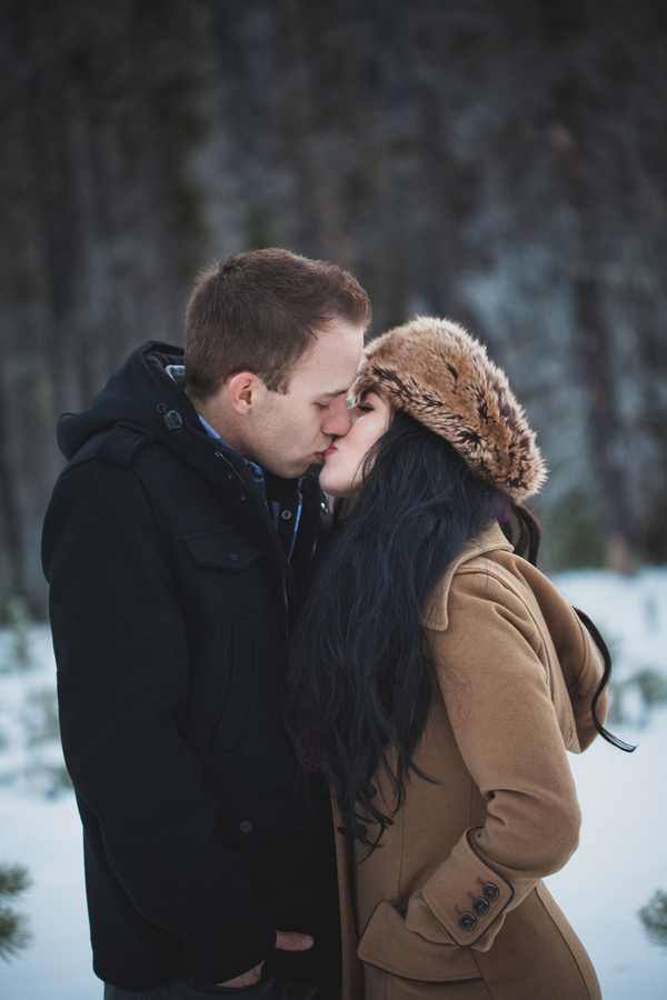 Snowy Engagement Session by White Album Weddings-21