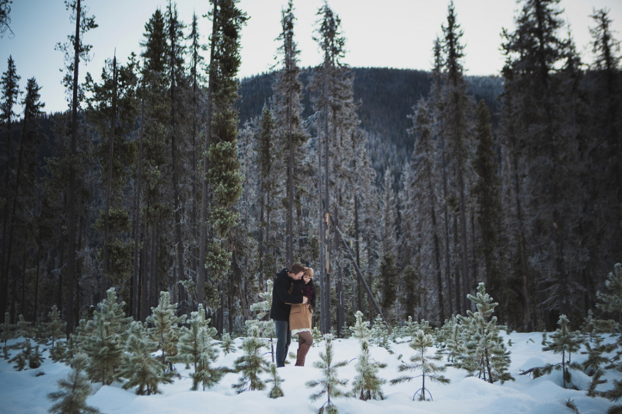 Snowy Engagement Session by White Album Weddings-22