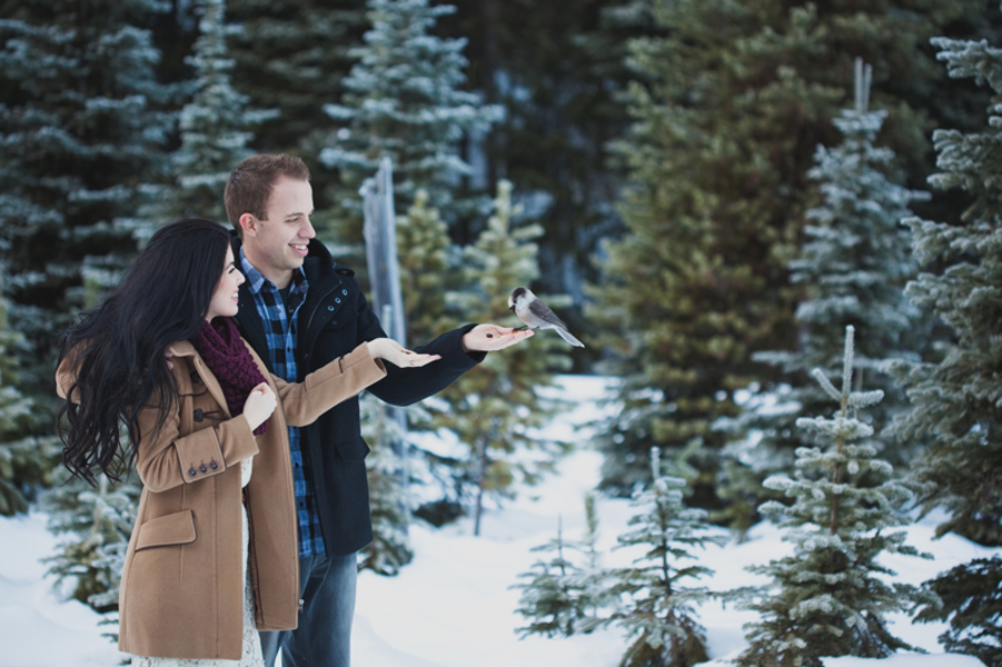 Snowy Engagement Session by White Album Weddings-23