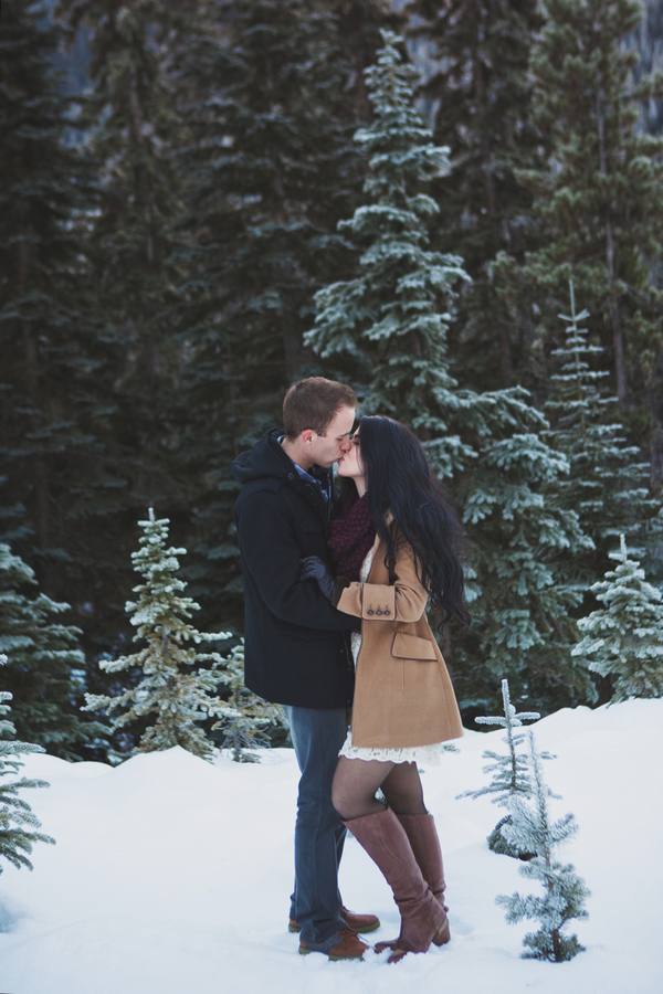 Snowy Engagement Session by White Album Weddings-35