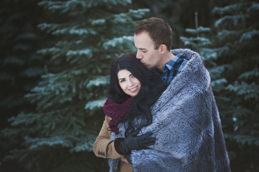 Snowy Engagement Session by White Album Weddings-4