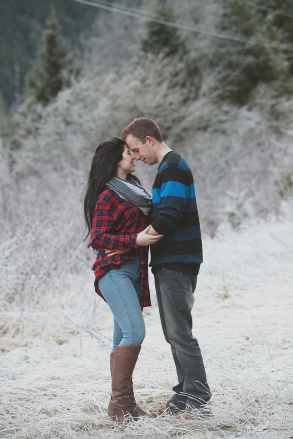 Snowy Engagement Session by White Album Weddings-46