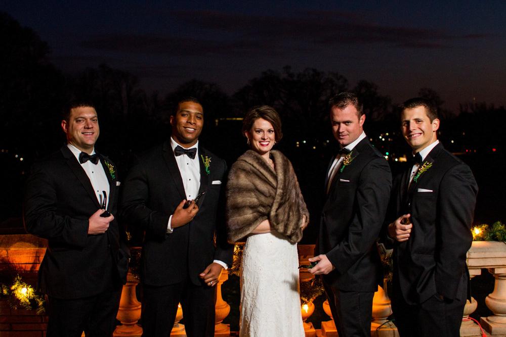Winter Wedding by Bartlett Pair Photography 20