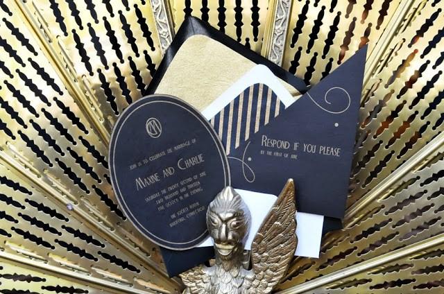 Gatsby themed wedding by dani fine photography