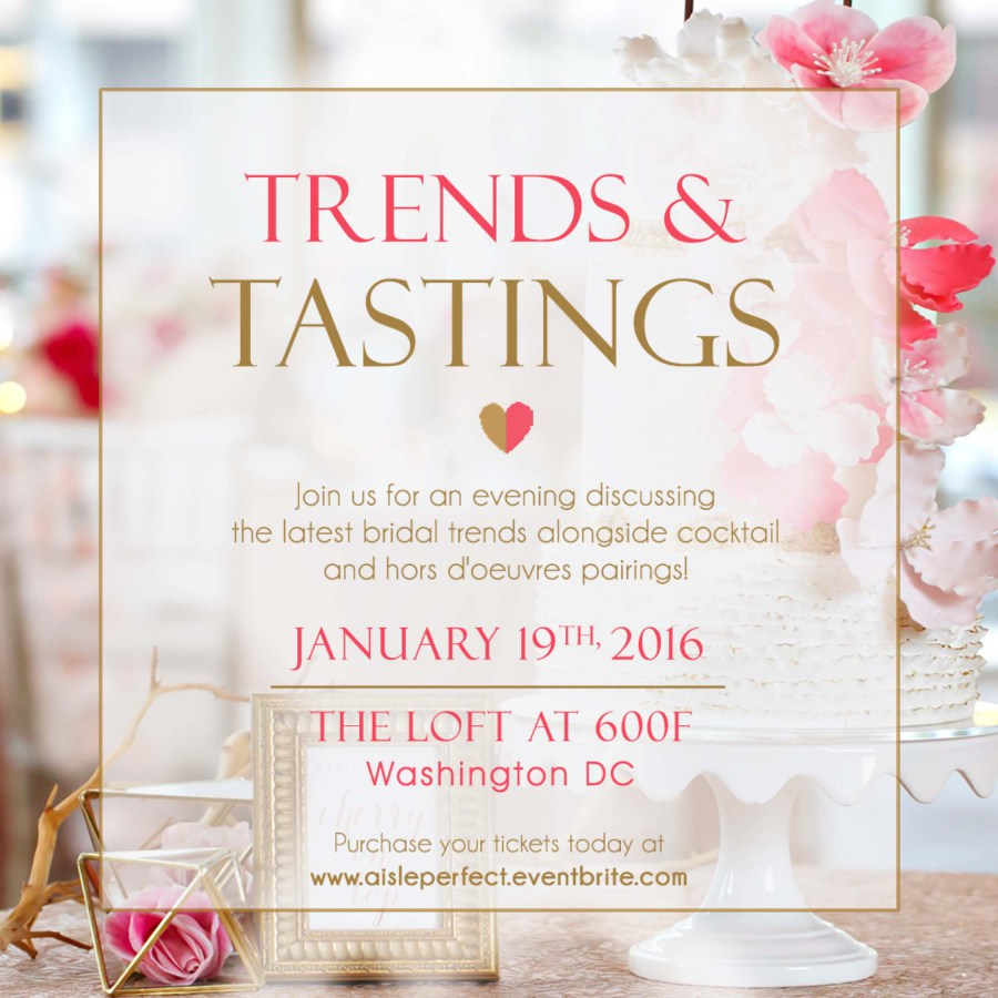 trends and tastings with aisle perfect