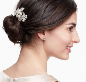Grazi Floral Wedding Hair Comb
