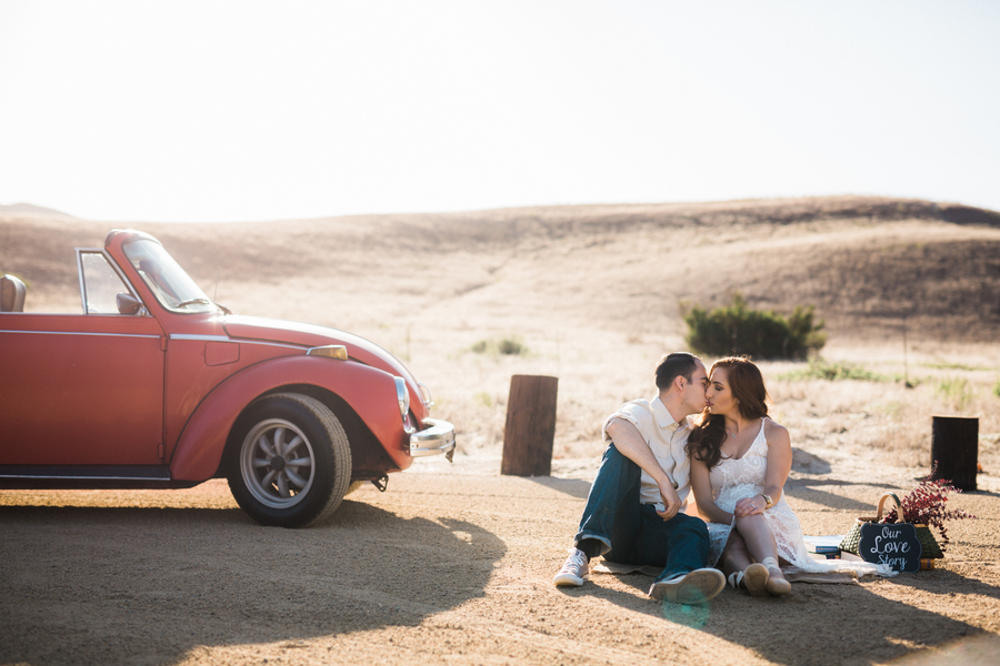 California Dreamin' Styled Engagement Shoot by Lin and Jirsa10