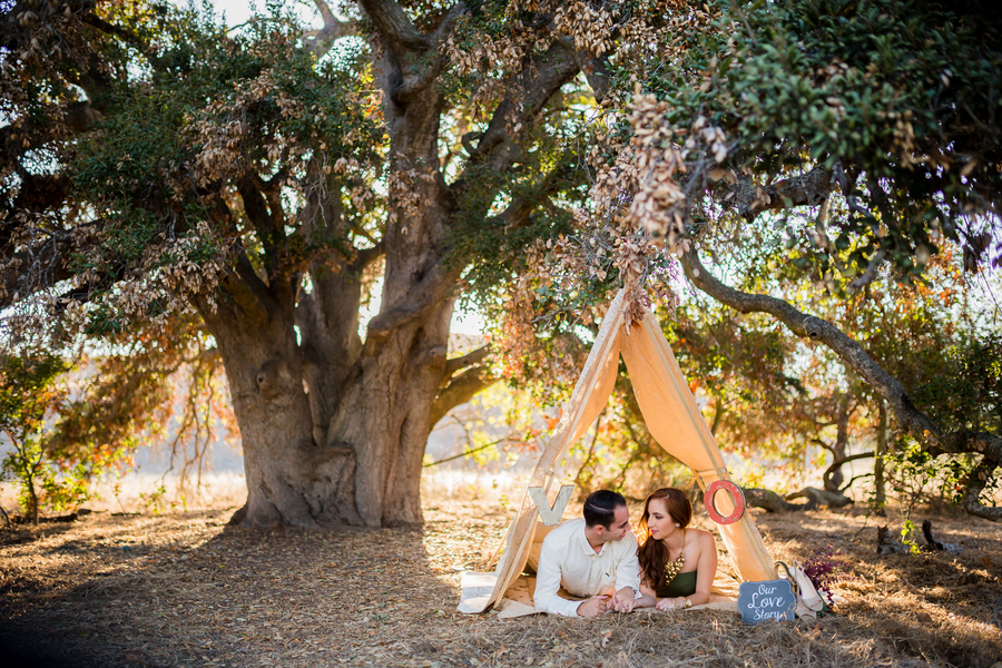 California Dreamin' Styled Engagement Shoot by Lin and Jirsa11