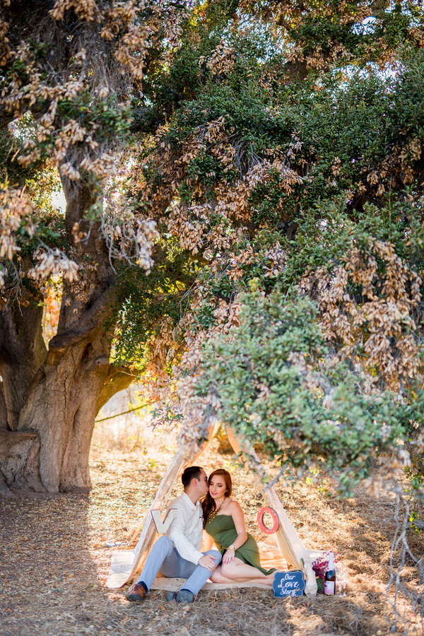 California Dreamin' Styled Engagement Shoot by Lin and Jirsa12