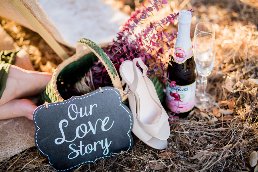 California Dreamin' Styled Engagement Shoot by Lin and Jirsa13