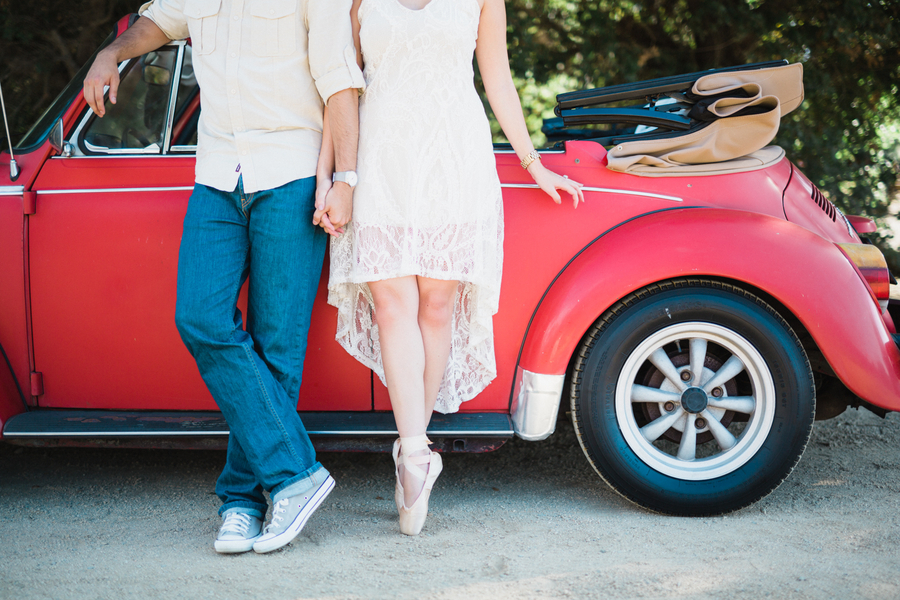 California Dreamin' Styled Engagement Shoot by Lin and Jirsa5