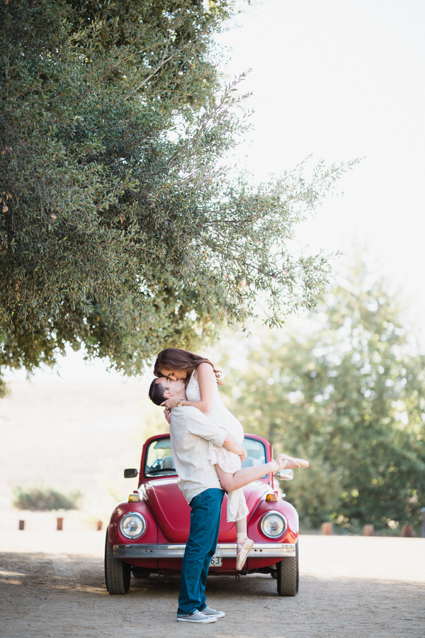 California Dreamin' Styled Engagement Shoot by Lin and Jirsa7