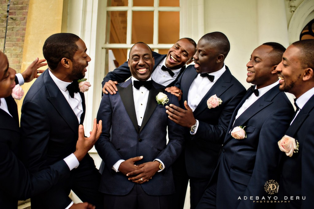 Groomsmen pictures that made us swoon - Adebayo deru