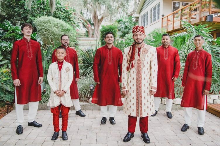 Soltren Photography via The Big Fat Indian Wedding