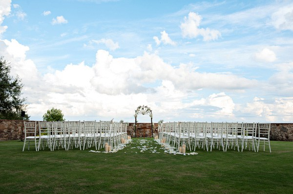 Outdoor Wedding Ceremony - Kristen Weaver photography