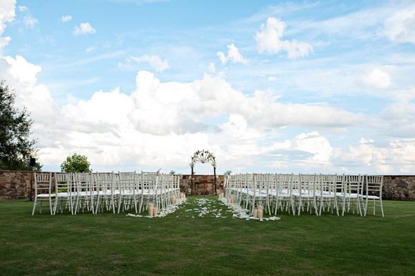 Outdoor Wedding Ceremony - Kristen Weaver photography