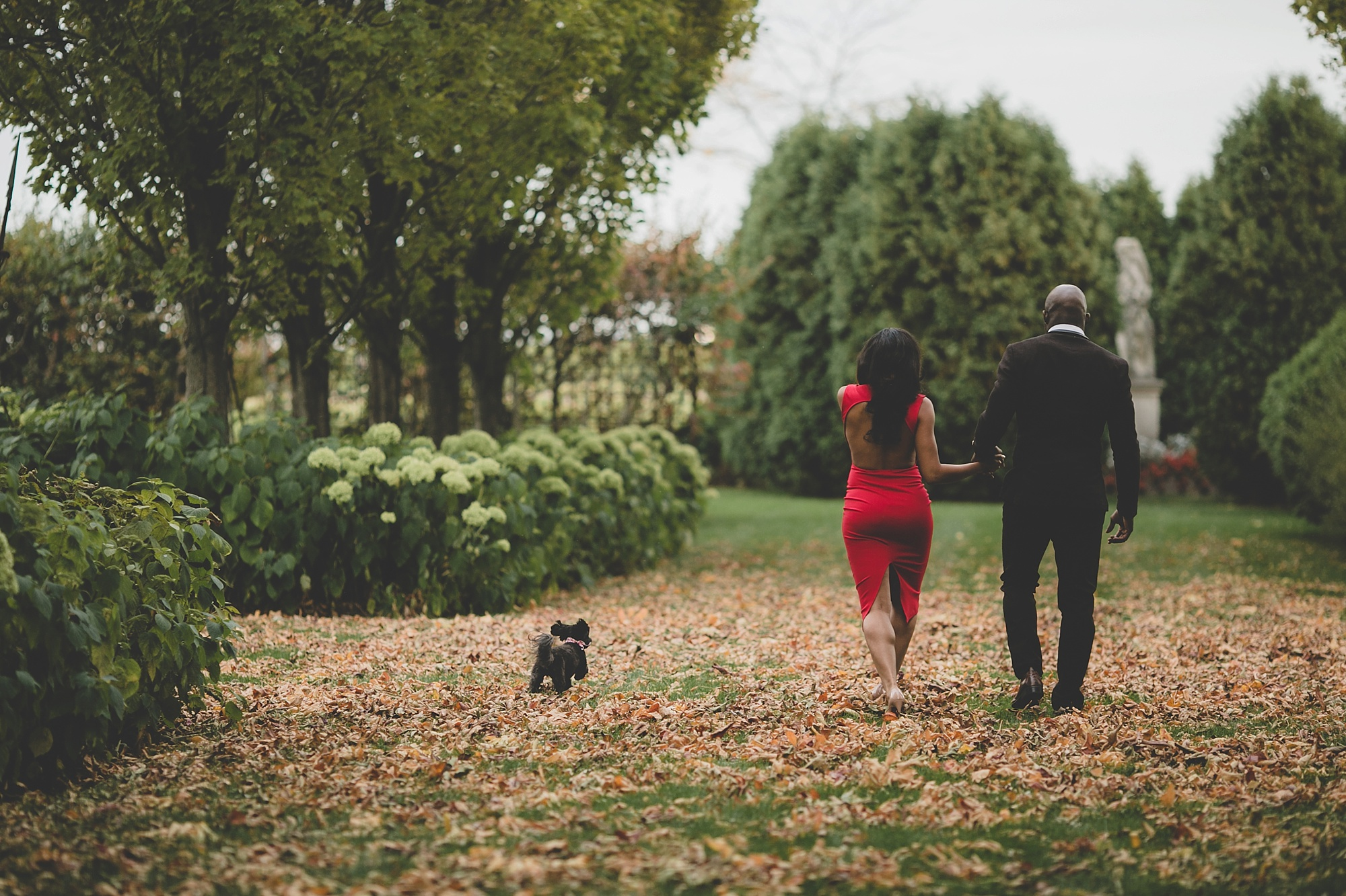 nfl green bay packers chris banjo's engagement shoot by magdalene photography