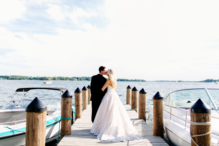 Modern Blush Wedding by Leah Fontaine Photography 48