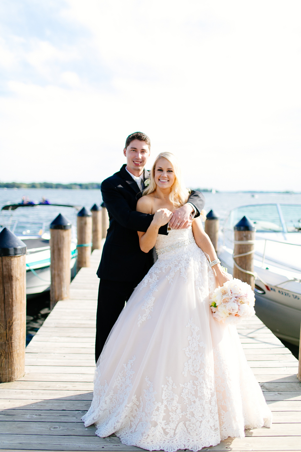 Modern Blush Wedding by Leah Fontaine Photography 50