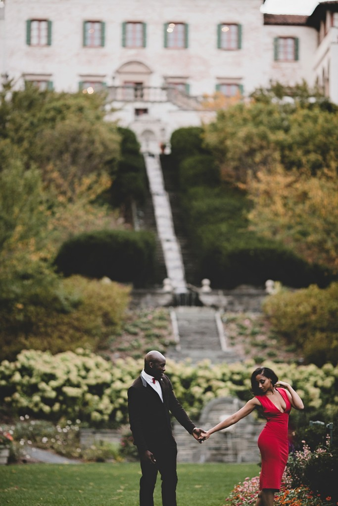 NFL Player Chris Banjo's Wisconsin Engagement Session by Magdalene Photography