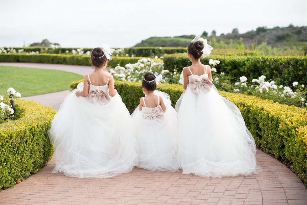 flower girl and junior bridesmaid dresses by isabella couture