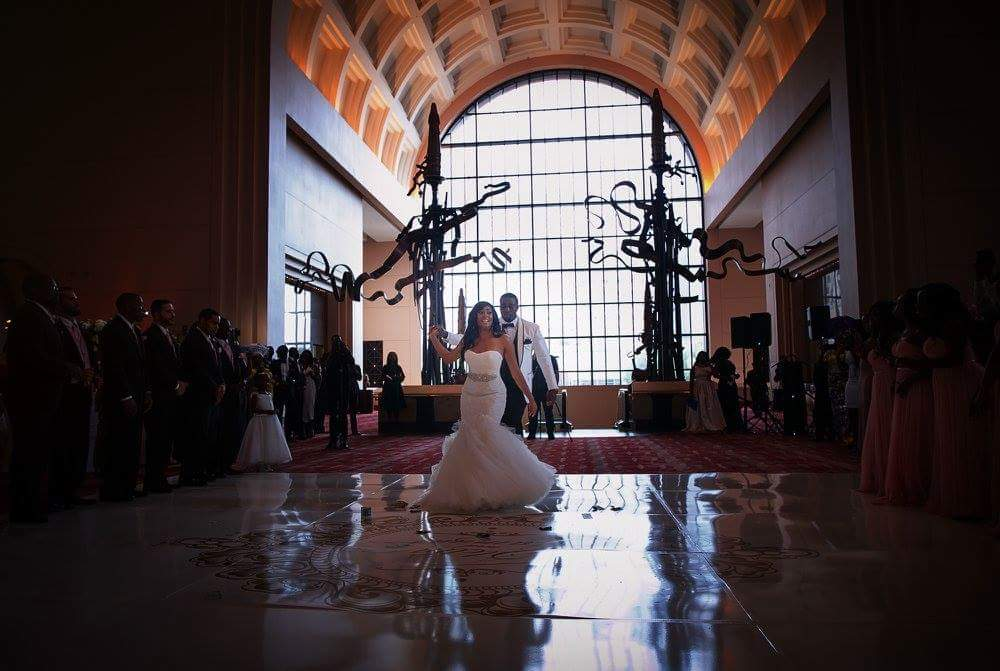 glamorous ballroom wedding in houston 3