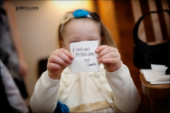 6 ways to include children in your wedding