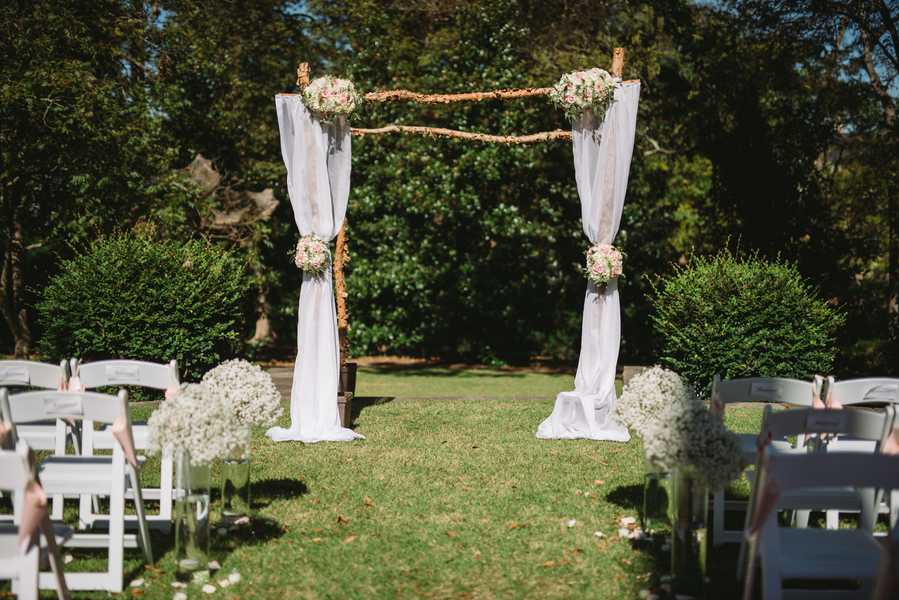 outdoor wedding in lexington south carolina 16