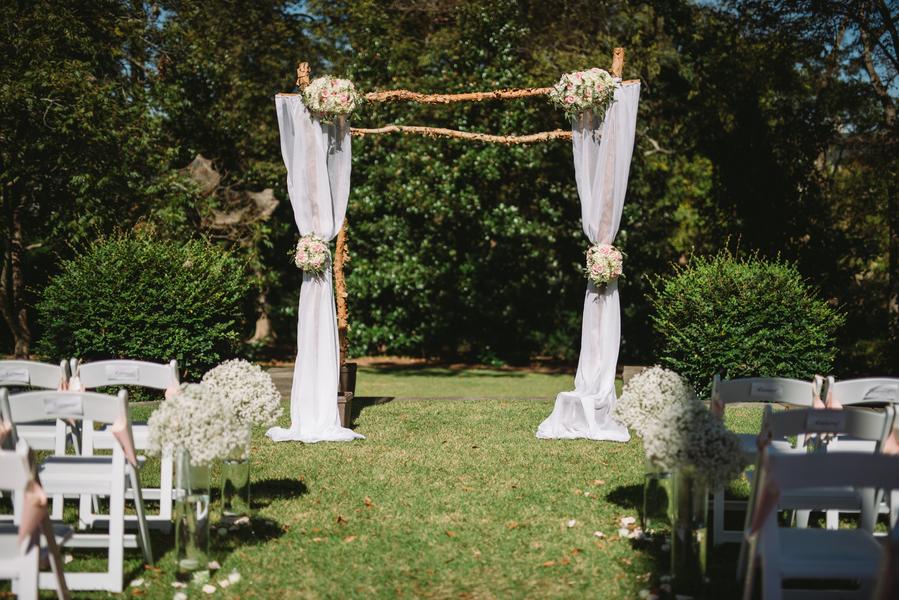 outdoor wedding in lexington south carolina 16