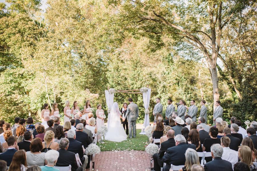 outdoor wedding in lexington south carolina 33