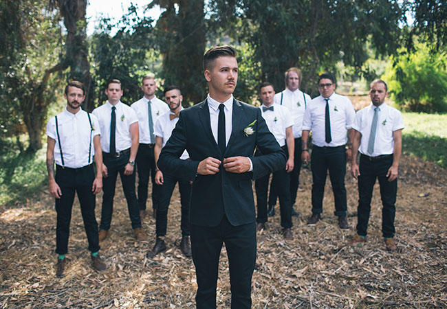 pretty perfect groom and groomsen ideas