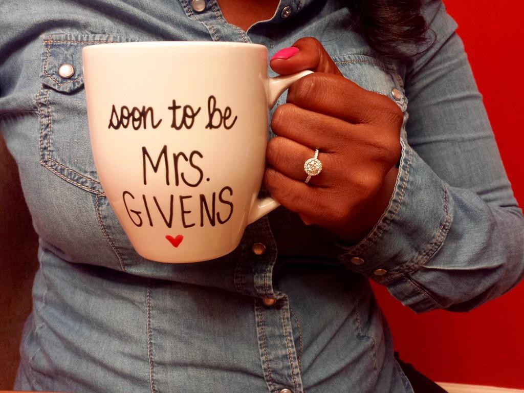 soon to be mrs mug - engagement gift