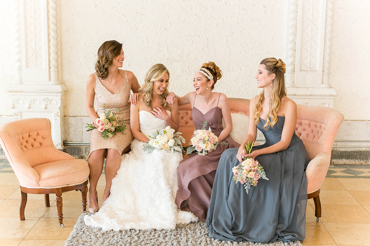mix match bridesmaid dresses by brideside altar ego