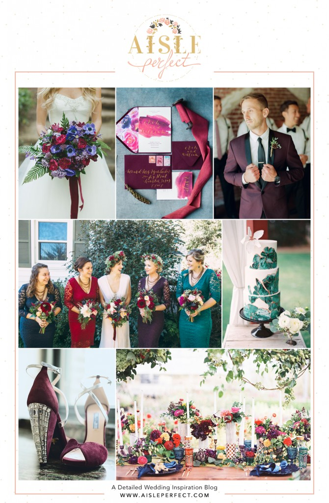 Jewel-Toned-wedding-Inspiration-Board