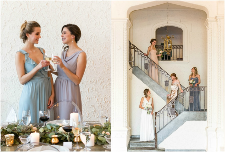 Mix Match bridesmaid dresses from the altar ego collection by brideside