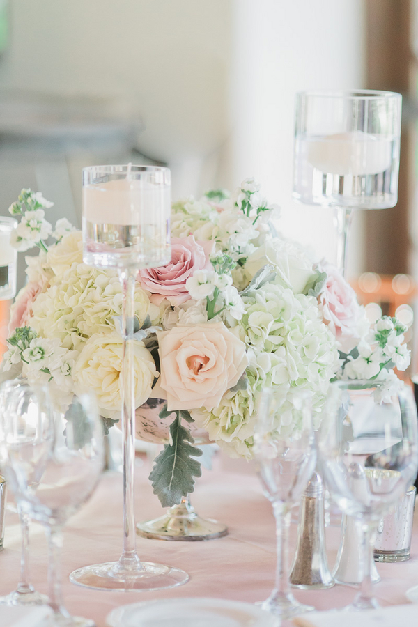floral centerpieces- romantic Wedding in Arizona 41