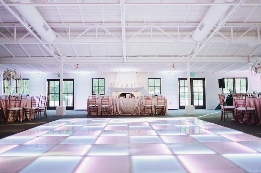 light wedding dance floor - Romantic Wedding in Arizona 51