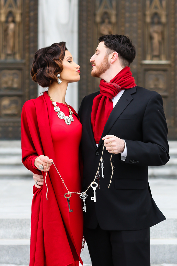 Valentines Day Engagement Shoot Inspiration by Digna Toledo Photography (29)