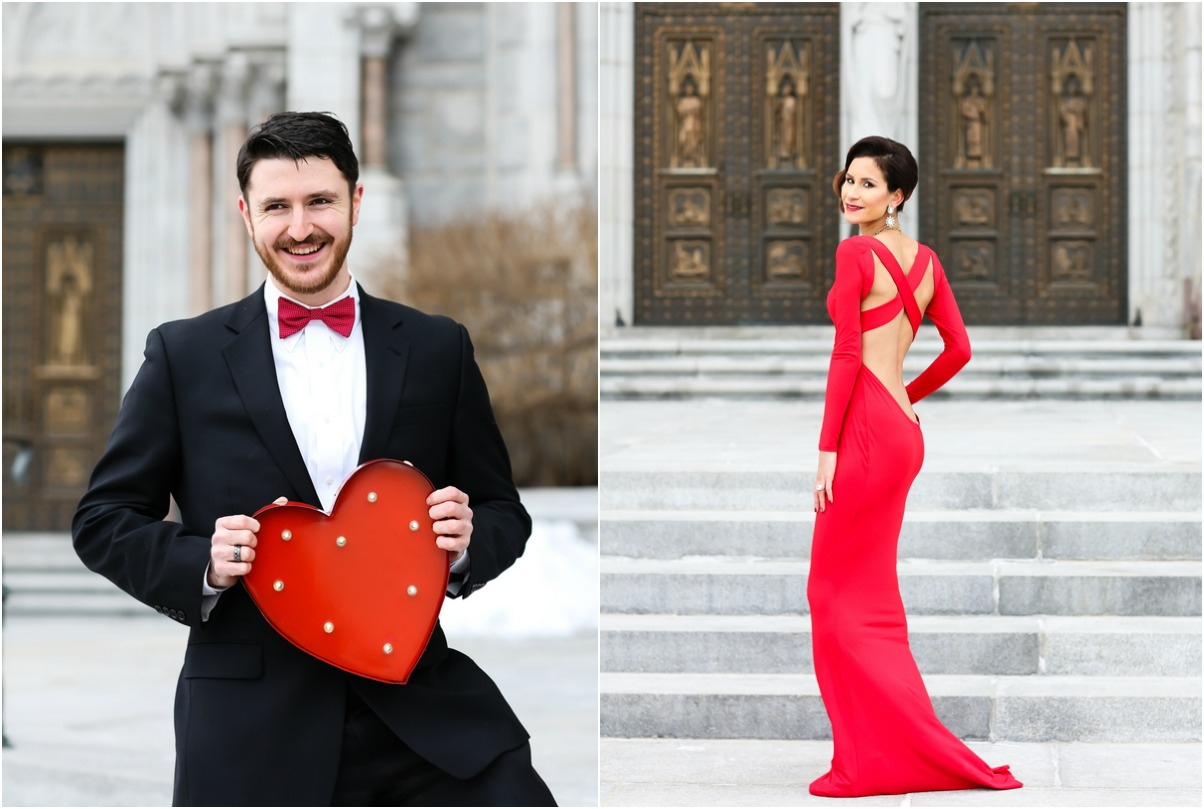 Valentine's day engagement inspiration
