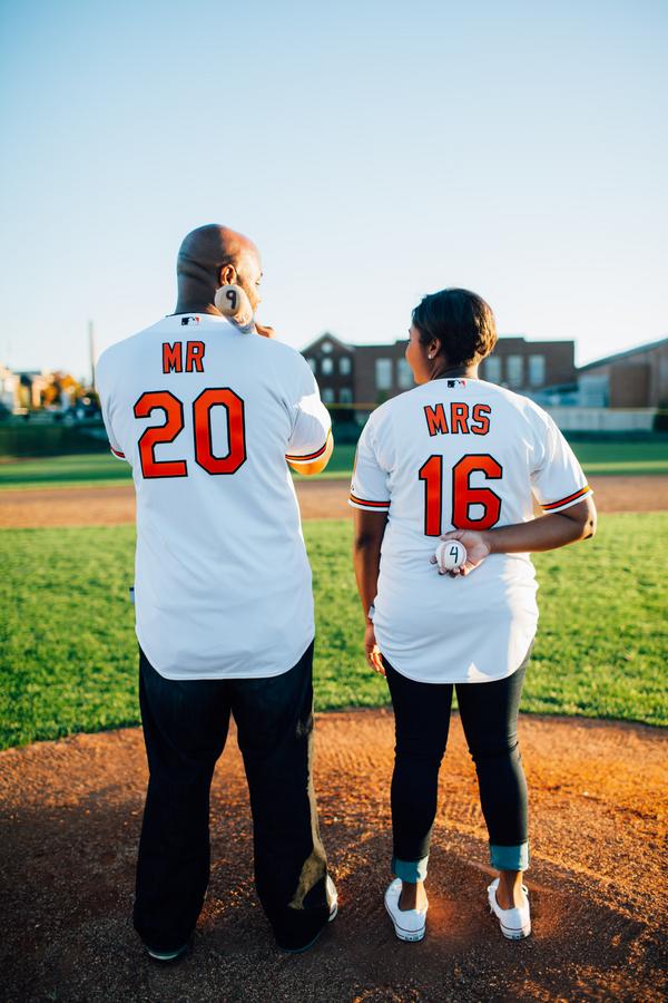 baseball themed engagement shoot by Hannah Lane 5