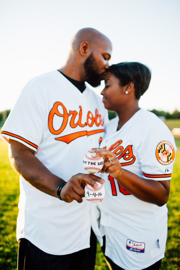 baseball themed engagement shoot by Hannah Lane 6