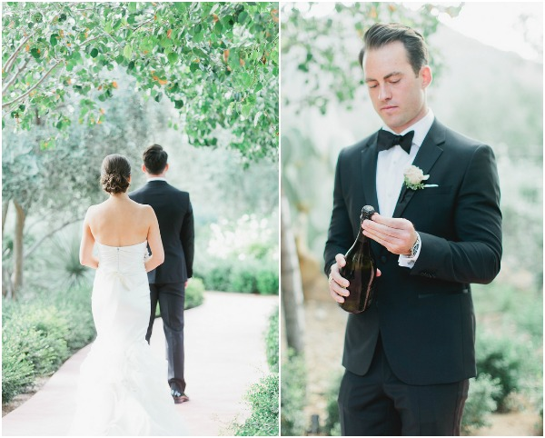 classic romantic wedding with neutral palette