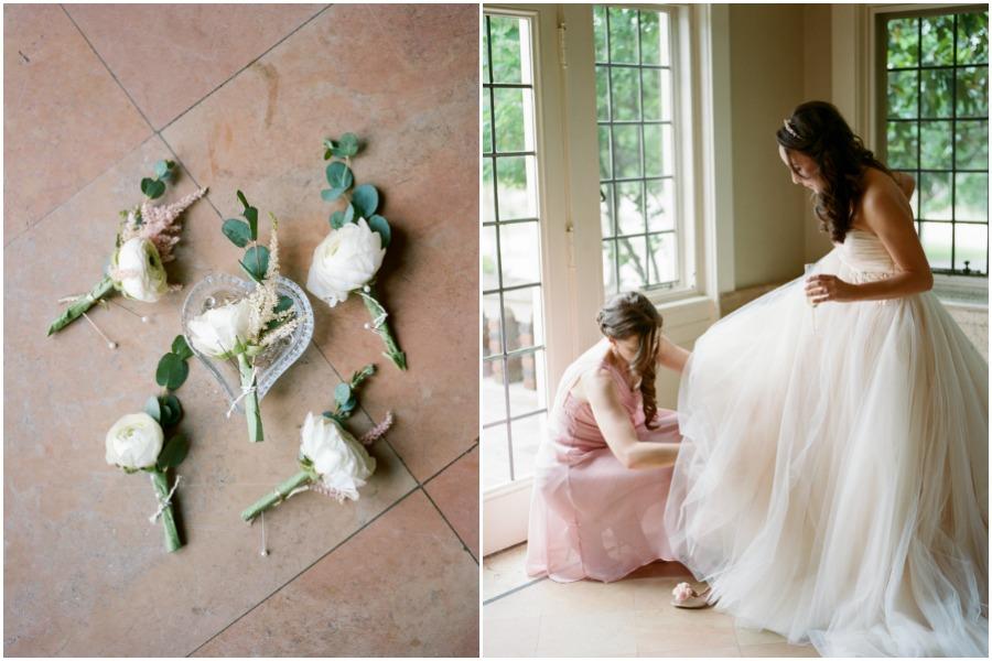 Blush and Gold Romantic Wedding