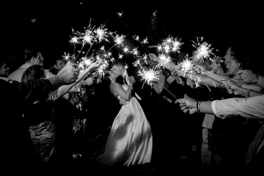 sparkler wedding exit- New Jersey Real Wedding-32