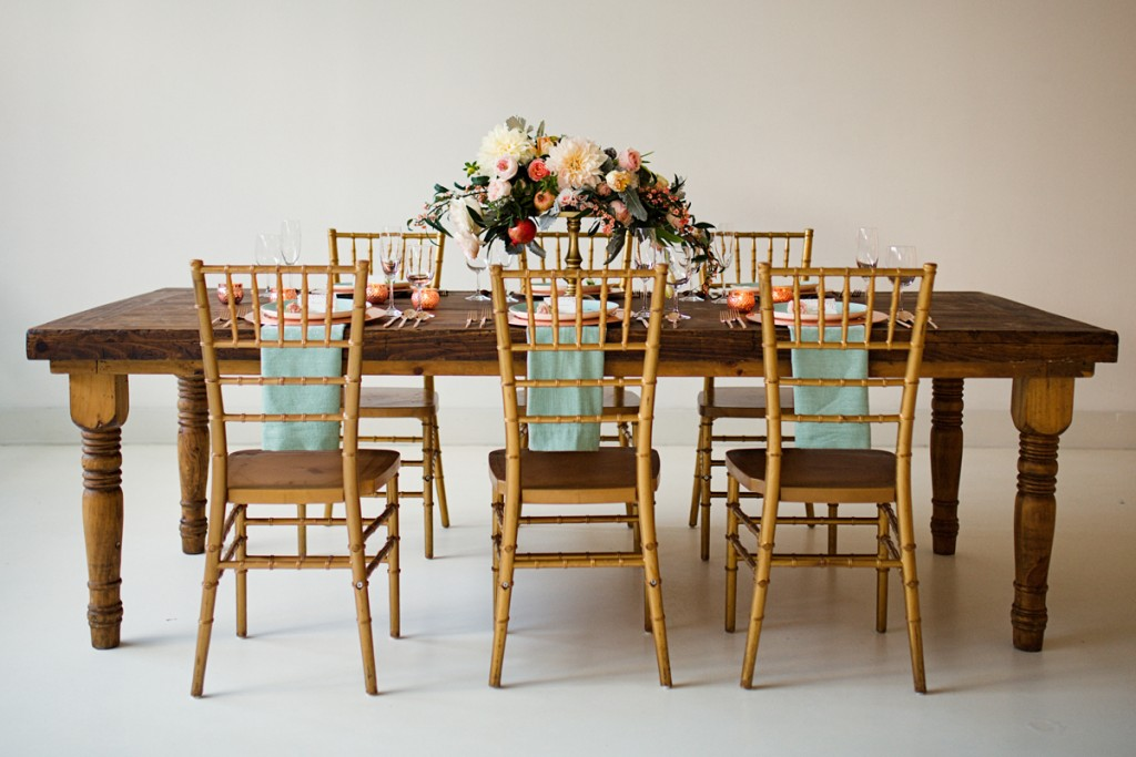 Rustic Glam Mint and Gold Wedding Inspiration with Minted 22