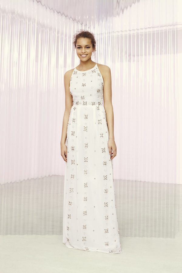 asos bridal gown - embellished maxi