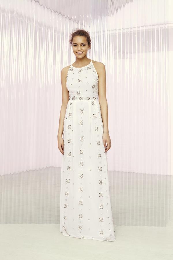 asos bridal gown - embellished maxi