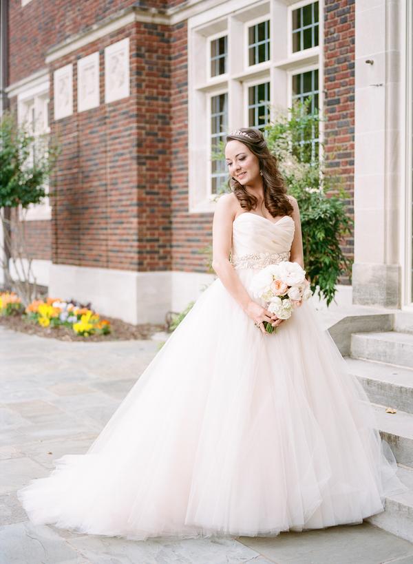 blush and gold wedding at Harwelden mansion 13
